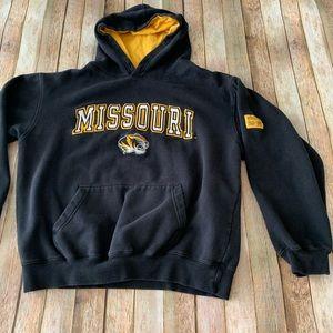 University of Missouri tigers pullover hoodie